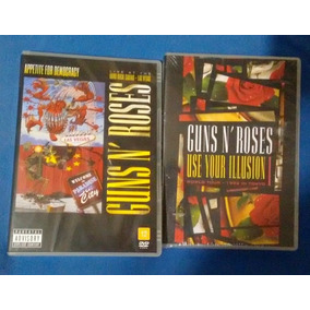 2 Dvds Guns N Roses Appetite Democracy Use Your Illusion 1