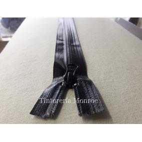 Cierre Impermeable Ykk 80 Cm Negro, Para Camperas. Original