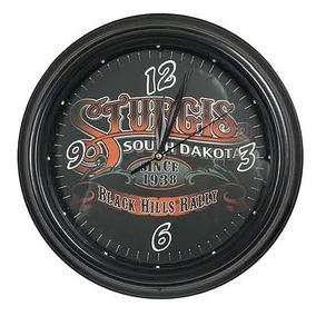 Reloj Vintage Retro Led Luminoso Sturgis Motos 0247