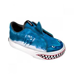 Zapatillas Topper Pasitos Pets Tiburon 24690 Caz
