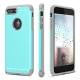 Funda Iphone 7 Plus, Chtech Funda Iphone 8 Plus Doble Capa P