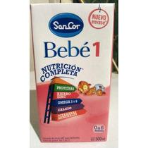 Leche Sancor Bebe 1. 12 Brick De 500ml C/u. De 0 A 6 Meses.
