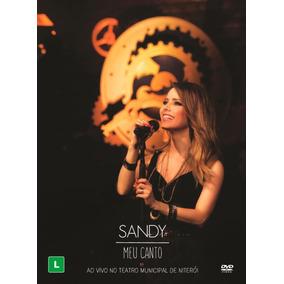 Sandy - Meu Canto - Ao Vivo - Dvd