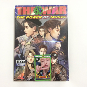 Pronta Entrega Exo The War The Power Of Music Kr Álbum Kpop