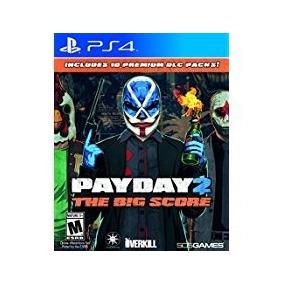 Pay Day 2 The Big Score Ps4 Fisico Sellado Original !!!