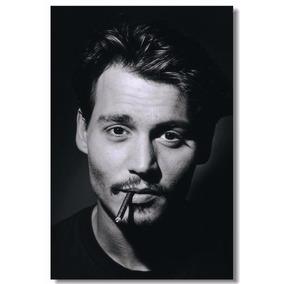 Pôster De Seda Johnny Depp