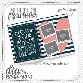 Arquivo De Corte Álbum De Figurinhas Dia Dos Namorados