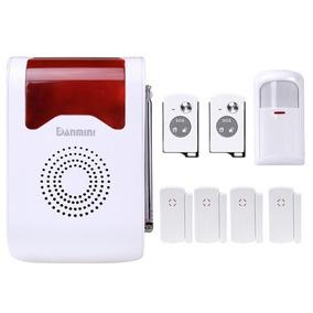 Alarma Seguridad Ya-302-6 8 1 Kit Inalambrica Voz Humana