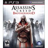 Assassins Creed Brotherhood Ps3