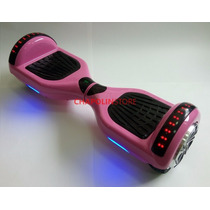 Hoverboard Bluetooth Mochila Led Smart Balance Wheel Rosa