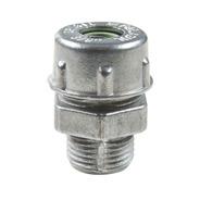6 Conector Prensa-cabo 3/8 Alumínio Verde Tramontin 56132001