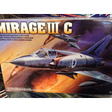 Maqueta Avión Para Armar 1:48 Mirage 3 C Academy