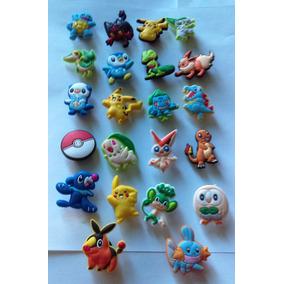 Figuras Pokemon P/sandalias Tipo Crocs Padrísimos!!!
