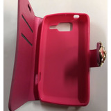 Case Capa Carteira + Película Plást Motorola Razr D1 Xt916