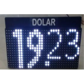 Led Indicador Divisas Dolar Tipo Cambio