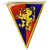 Beistle 57719 Medieval Pennant Banner, 10-inch By 12-feet,