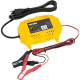 Carregador De Bateria Portátil Cib070 Vonder 12v Auto