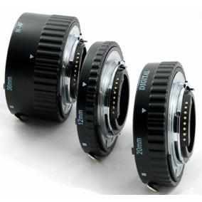 Set Tubos Extension P/ Lente Nikon Af Para Macro Phottix