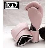 Guantes De Boxeo Pink De 14 Oz K17 + Vendas + Delivery