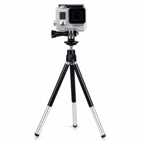Mini Tripe Com Suporte Para Camera Gopro Sjcam Yi Etc