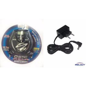 Discman Softech Cd Player Digital Anti-shock Mp3 Com Fonte