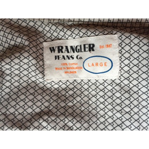 Camisa Casual Wrangler