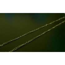 Cordao Fino Masculino Banhado A Ouro 18k 60cm
