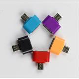 Adaptador Micro Usb Otg Pendrive Para Celular E Tablet