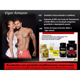 Vigor Amazon - Kit 6 Produtos Estimulantes Sexuais