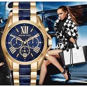 Reloj Michael Kors Mk6268 Bradshaw Cronógrafo Fechero