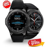 Smartwatch Samsung Gear S3 Frontier 4gb Wifi Bluetooth Agua