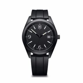 Reloj Victorinox Correa Negra 100% Original 26074.cb