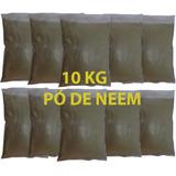 10 Kg Pó Da Folha De Nim Azadiractha Índica Puro Original