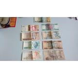 Dinheiro Antigo Lote Com 9 Notas