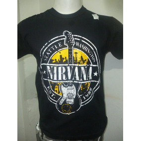 Remeras De Nirvana - Varios Modelos - Que Sea Rock!!!