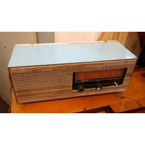 Radio Frahn Diplomata Azul, Funcionando Antigo Madeira