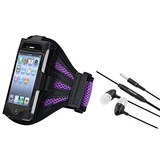 Eforcity Armband With Black In-ear With On-off Stereo Headse