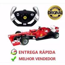Carrinho Controle Remoto Grande Ferrari Formula-1 7funções