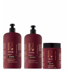 Kit Bio Extratus Shitake Shampoo + Condicionador + Mascara