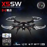 Drone Helicoptero Cuadricoptero Syma X5sw Wifi Negro