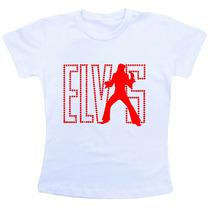 Camiseta Infantil Elvis Presley Co533