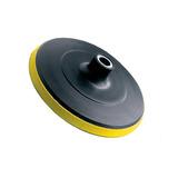 Disco De Borracha Com Velcro 180 Mm - Black Jack