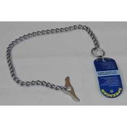 Collar Aleman Plano 60cm X 2.5mm Con Mariposa Herm Sprenger