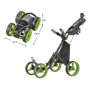 Kaddygolf Carro Manual Golf Caddytek Explorer 4 Rdas
