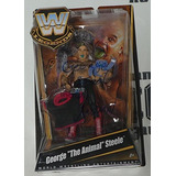 George The Animal Steele Firmado Wwe Legends Action Figure C
