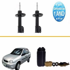 02 Amortecedor Dianteiro Corsa Sedan 1999 2000 2001 02 + Kit