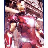 Fotografia Autografo Robert Downey Jr. Iron Man Marvel Civil