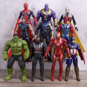 10 Bonecos Vingadores Guerra Infinita Thanos Marvel-hulk