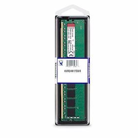Memoria Desktop Ddr4 8gb Kingston Kvr24n17s8/8 8gb 2400mhz