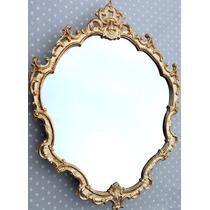 Espelho Decorativo Barrock Veneziano Dourado